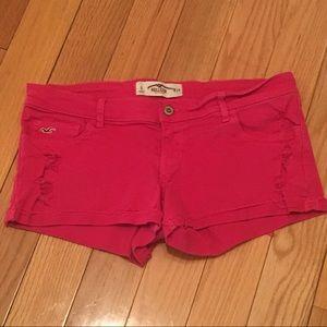 💗Hollister Pink Denim Shorts